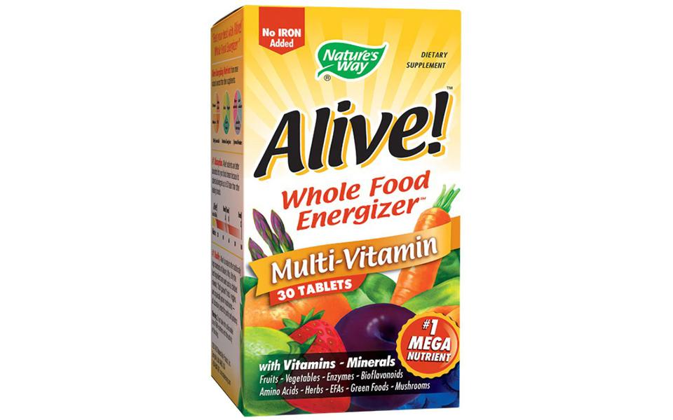 Cutie multivitamine pentru vegani Nature's Way Alive.