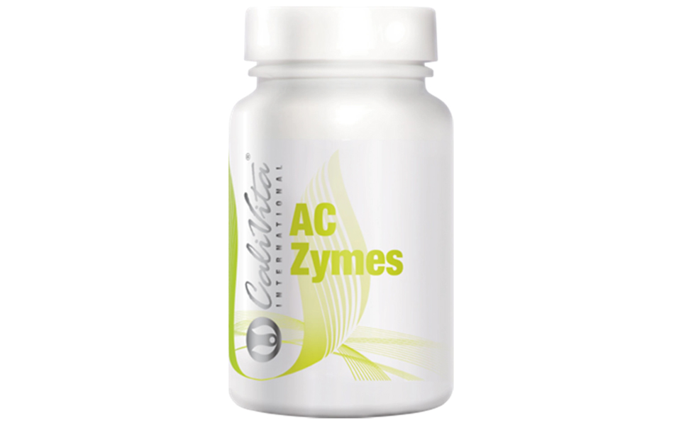 Flacon cu probiotice AC-ZymesCaliVita.