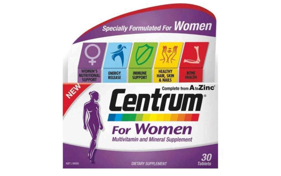 Cutie multivitamine Centrum pentru femei complet de la A-Z.