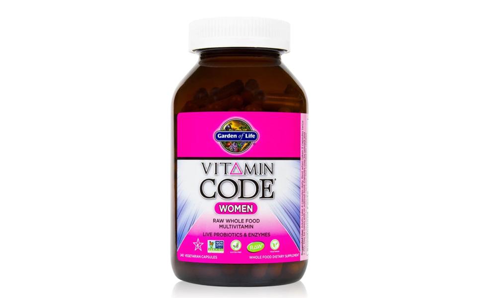 Flacon multivitamine Garden of Life - Vitamin Code Women.