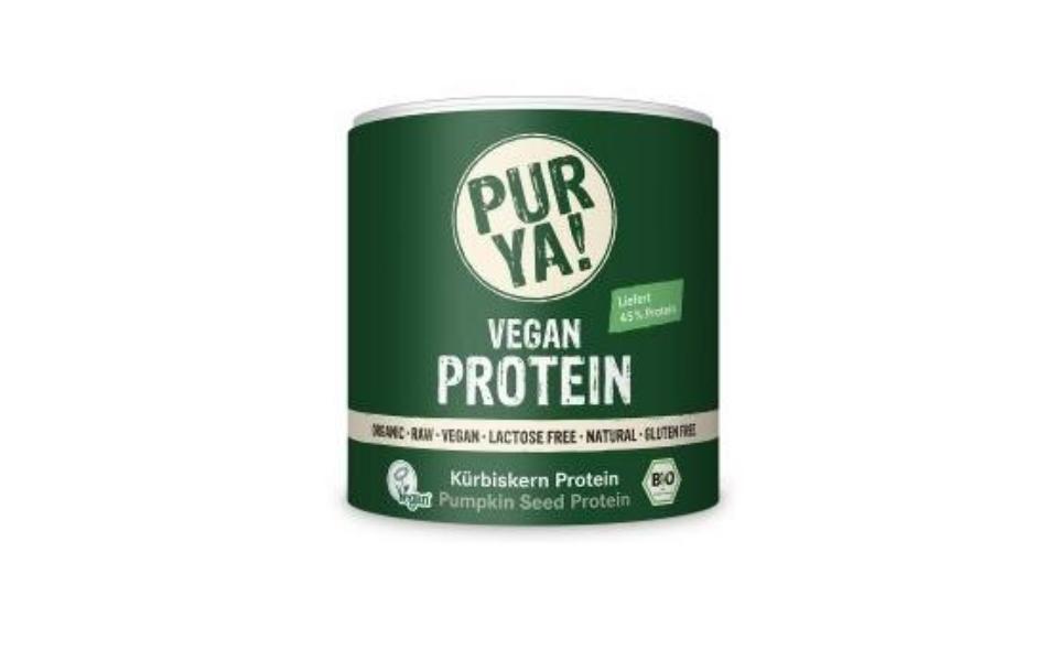 Recipient pudra proteica Pur Ya! Vegan Protein Raw Bio.