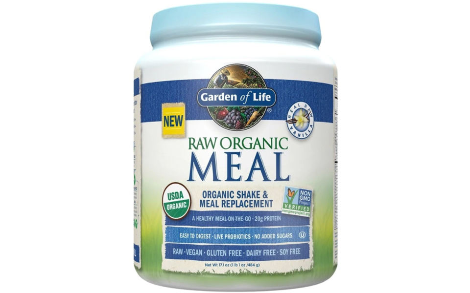 Recipient pudra proteica Garden of Life Raw Meal.