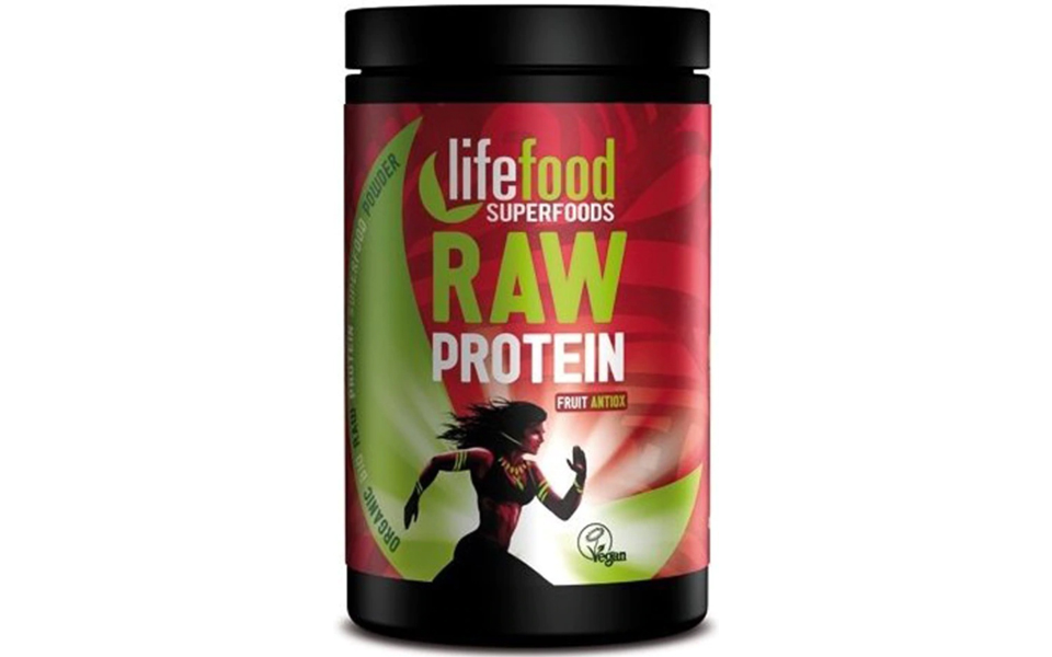 Recipient pudra proteica LifeFood Raw Protein.